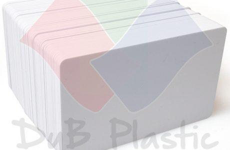 Tarjetas PVC Blancas